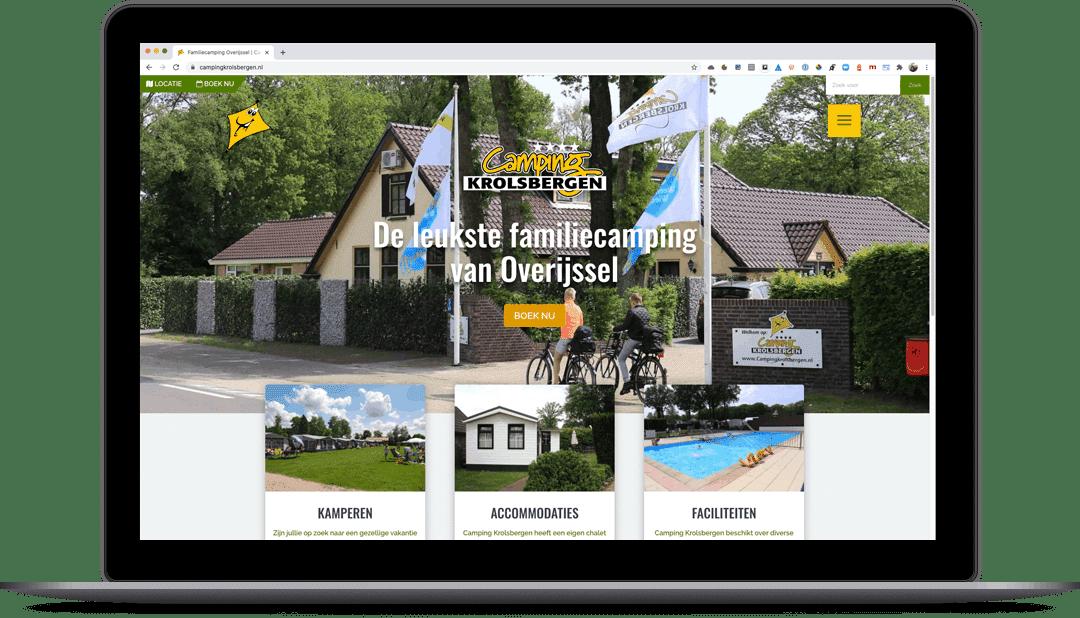 Homepage Camping Krolsbergen